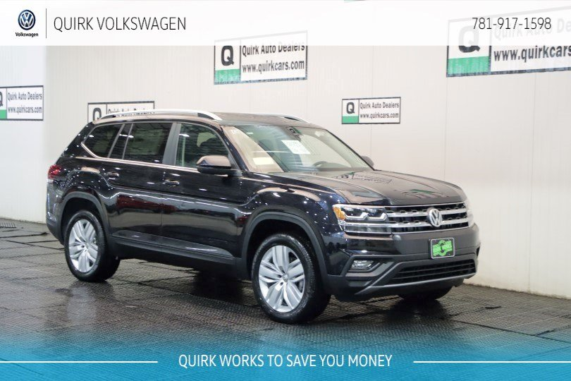 New 2019 Volkswagen Atlas 3 6l V6 Se W Technology