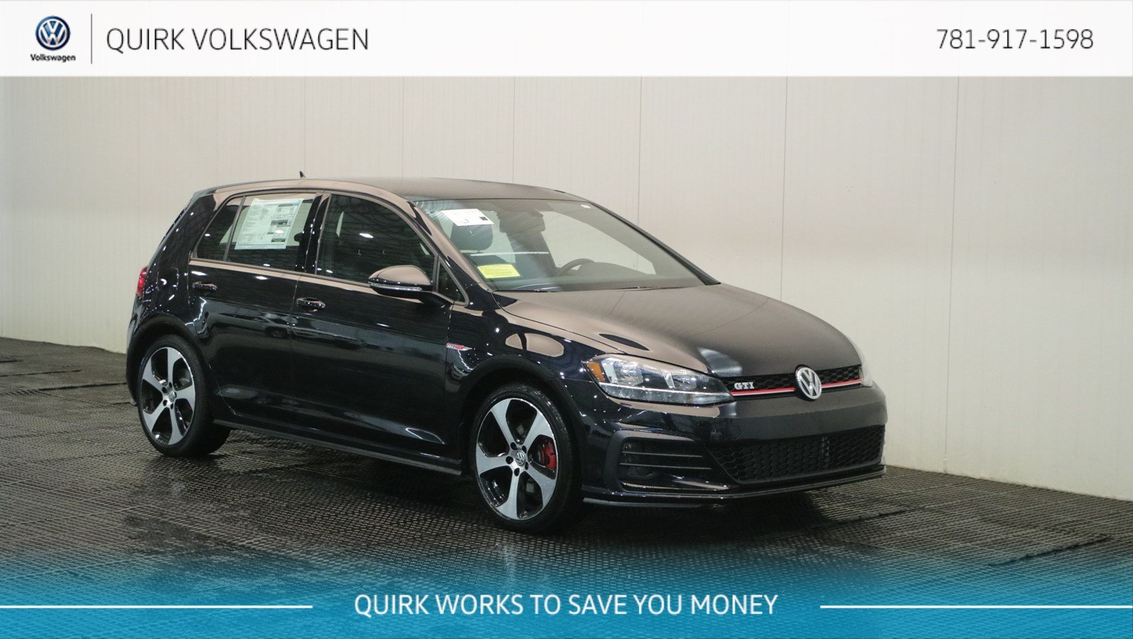 New 2018 Volkswagen Golf GTI S