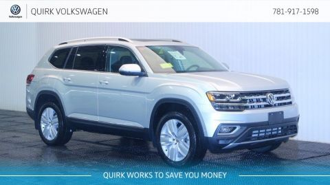 New 2018 Volkswagen Atlas 3.6L V6 SEL Premium w/captian chairs