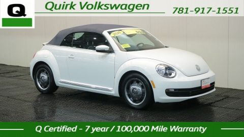 Pre-Owned 2016 Volkswagen Beetle Convertible Demin 1.8T Denim